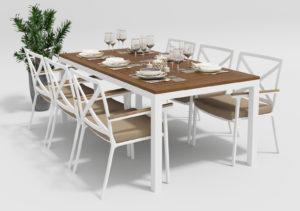 Садовая мебель Bella +Calma 200 beige