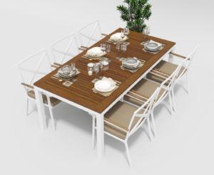 Садовая мебель Bella +Calma 200 beige фото