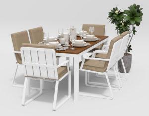Садовая мебель Bella + Voglie 180 beige