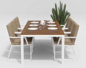 Садовая мебель Bella + Voglie 200 beige