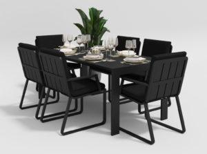 Садовая мебель Malia 180 model 2 black фото 1