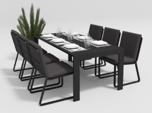 Садовая мебель Malia 200 model 1 anthracite
