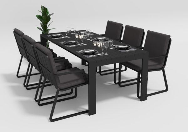 Садовая мебель Malia 200 model 2 anthracite