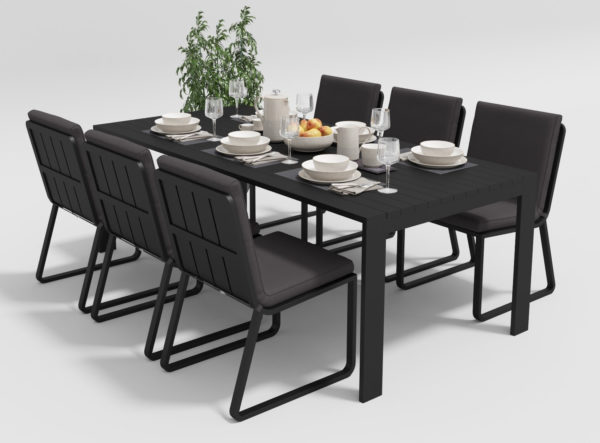 Садовая мебель Malia 220 model 1 anthracite