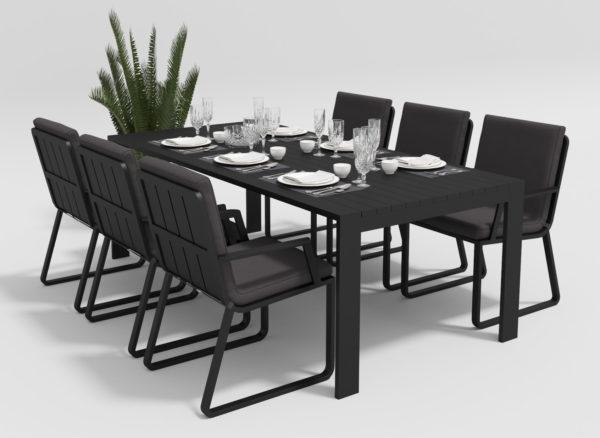 Фото-Садовая мебель Malia 220 model 2 anthracite