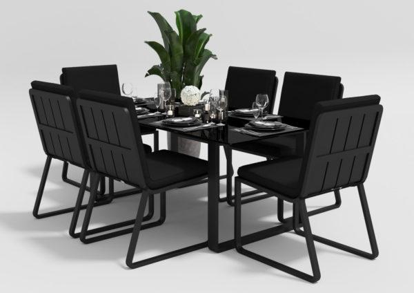 "Садовая мебель ""Voglie"" 220 model 1 carbon black"