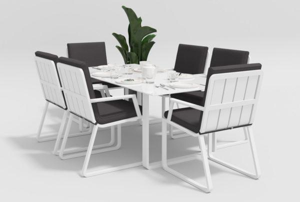 Садовая мебель Voglie model 2 white anthracite фото 1