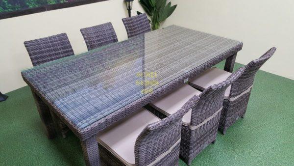 Садовая мебель из искусственного ротанга Infinity & Rose brown grey