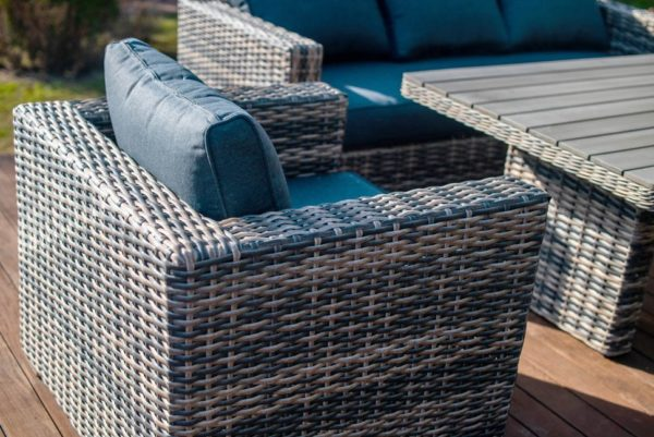 Фото-San Marino Кресла и стол из искусственного ротанга