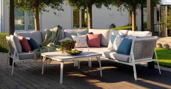 Фото-Sevran Садовая мебель Brafab алюминий