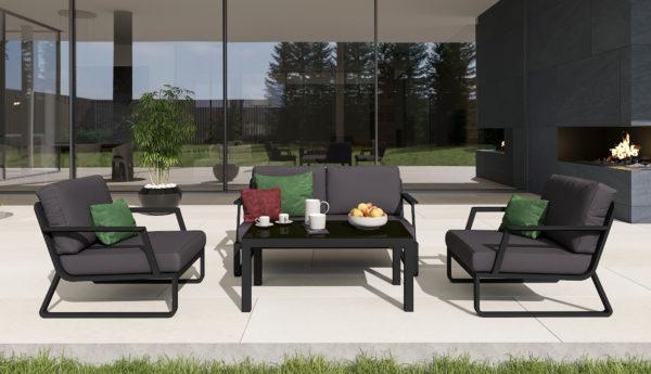 Фото-VOGLIE Lounge carbon Садовая мебель