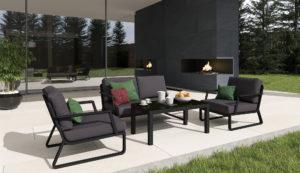 "Садовая мебель ""Voglie"" lounge carbon Gardenini"