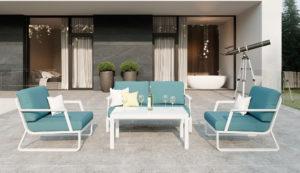 "Садовая мебель ""Voglie"" lounge white Gardenini"