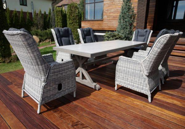 Verona 250+6 Мебель из искусственного ротанга