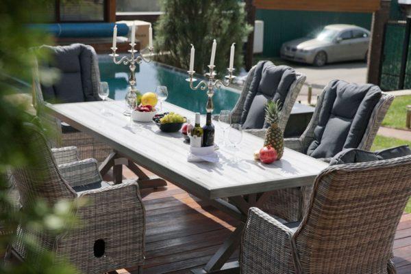 Фото-Verona 250+6 Плетеная мебель