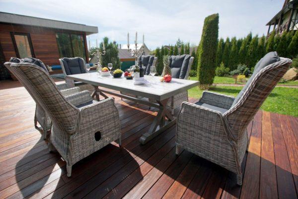 Фото-Verona 250+6 Садовая мебель из ротанга