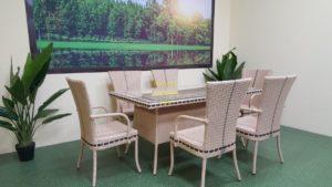 Фото-Aura beige 6 Плетеная мебель