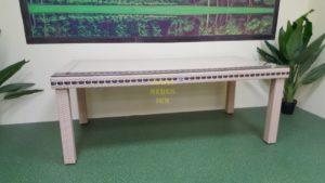 Фото-Aurora beige 160 Стол плетеный