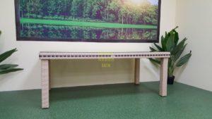 Aurora beige 200 Стол из искусственного ротанга