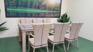 Фото-Aurora beige 6 Плетеная мебель