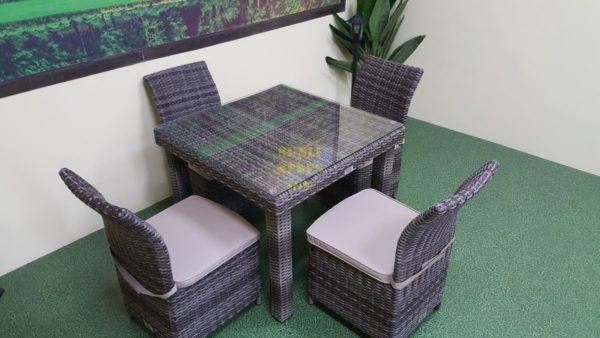 Фото-Infinity & Rose brown grey 4 мебель из искусственного ротанга