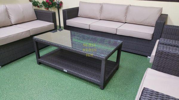 Фото-Louisiana brown Плетеная мебель для отдыха