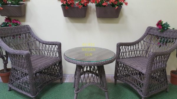 Фото-Плетеная мебель Beatrix beige cafe set