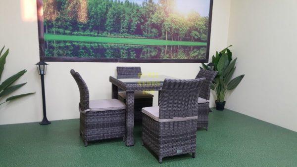 Фото-Плетеная мебель Infinity & Rose brown grey 4
