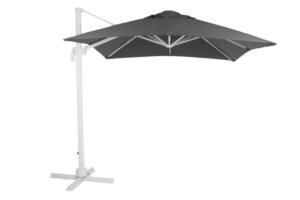 """Зонт садовый на боковой опоре """"Linz"""" 250х250 антрацит Brafab"""