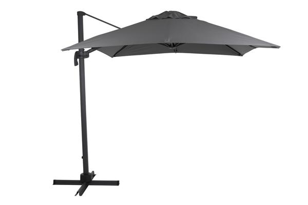 1478-73-07 Linz 250х250 серый Садовый зонт на боковой опоре