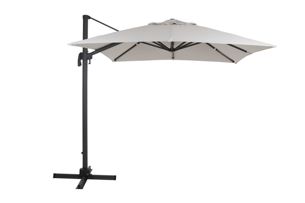 1478-73-21 Linz зонт садовый 250х250 бежевый Садовый зонт на боковой опоре