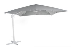 "Зонт садовый на боковой опоре ""Linz"" 300х300 серый Brafab"