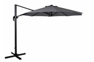 1480-73-07 Linz 300х300 серый Садовый зонт на боковой опоре