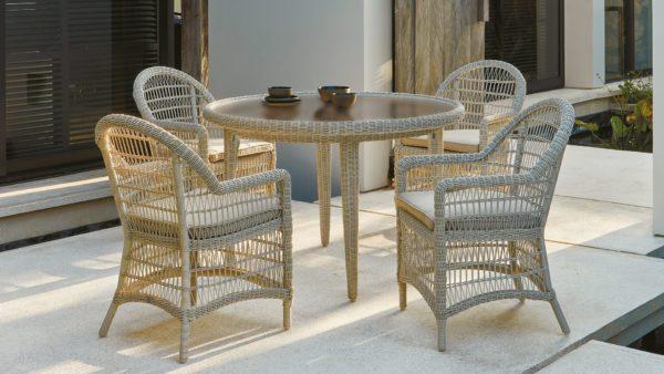 Фото-ARENA set 1 Плетеная мебель из искусственного ротанга Skylinedesign