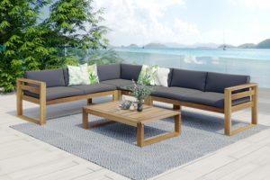 Booka lounge set 1 Садовая мебель акация