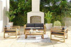 Booka lounge set 2 Садовая мебель акация фото 1