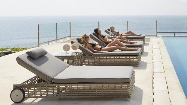 CASTRIES Плетеная мебель пляжная