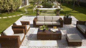 CUATRO-PACIFIC Плетеная мебель из искусственного ротанга Skylinedesign