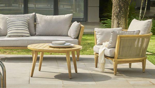 Girona Lounge Set Садовая мебель из акации Azzura фото 2