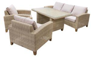 Фото-MINERVA set 2 Плетеная мебель из искусственного ротанга
