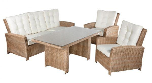 Фото-Orlando set 2 Плетеная мебель из искусственного ротанга