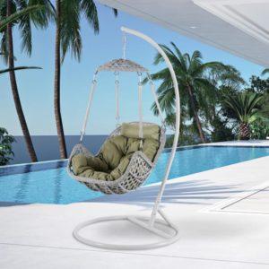Фото-Подвесное кресло Caribean grey