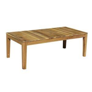 Садовый стол из акации кофейный AURA