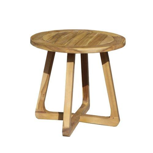 Стол садовый кофейный из акации Round