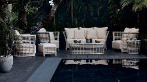 VILLA set 4 Плетеная мебель из искусственного ротанга