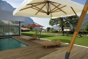Зонт профессиональный Palladio Braccio 3х4 метра