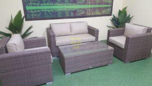 Adagio beige set 2 Ротанг мебель уличная