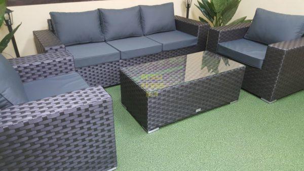 Cinzano black Садовая мебель из ротанга