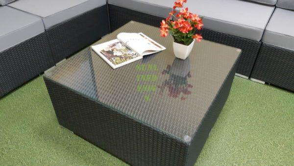 Фото-Luisa 90 Стол плетеный кофейный