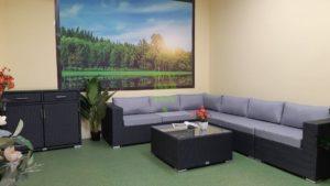 Фото-Luisa Lounge set 3 Плетеная мебель